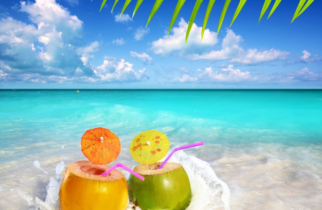 1-13890_fruit-water-snacks-sea-summer-palm-beach-wallpaper